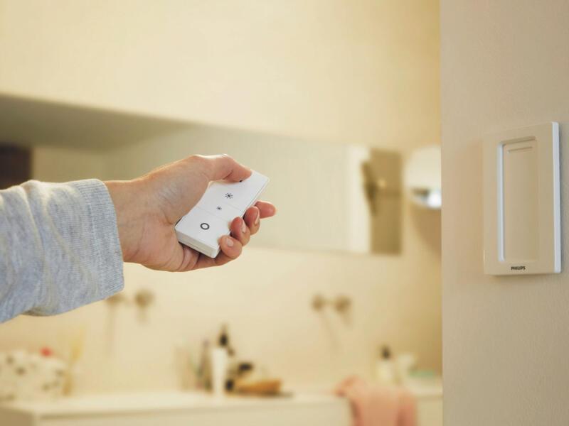 Philips Hue White Ambiance Adore spot de plafond LED GU10 3x5,5 W dimmable + télécommande blanc