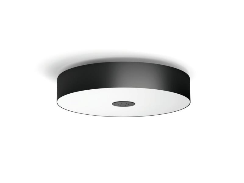 Philips Hue White Ambiance Fair LED plafondlamp 39W dimbaar + afstandbediening zwart