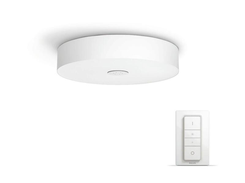 Philips Hue White Ambiance Fair plafonnier LED 39W dimmable + télécommande blanc