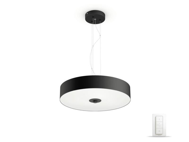 Philips Hue White Ambiance Fair suspension LED 39W + dimmer noir