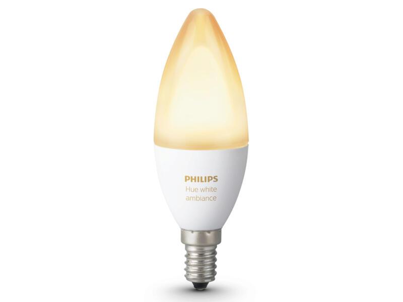 Philips Hue White Ambiance LED kaarslamp E14 6W dimbaar