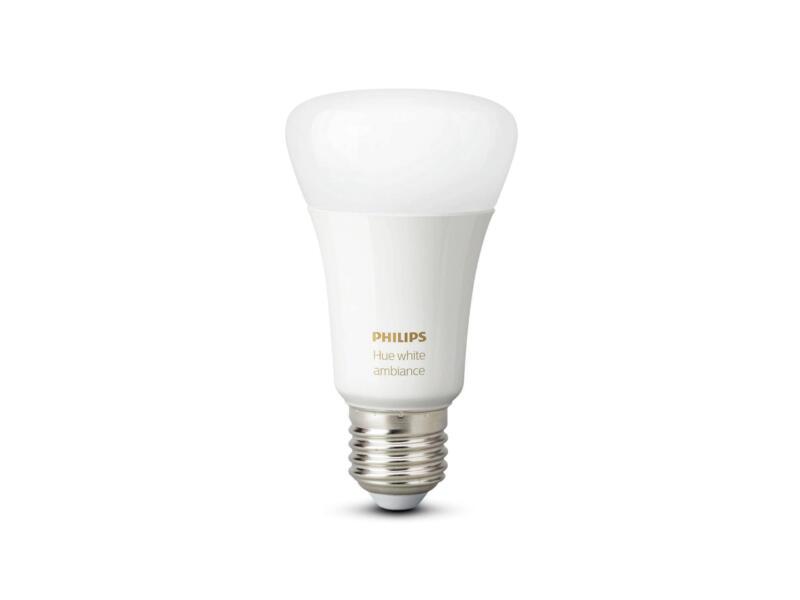 Philips Hue White Ambiance LED peerlamp E27 9,5W dimbaar 2 stuks