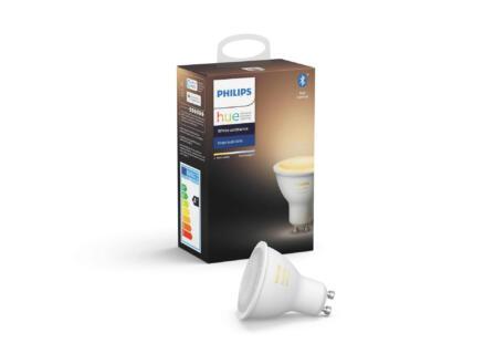 Philips Hue White Ambiance LED spot GU10 5,5W dimbaar