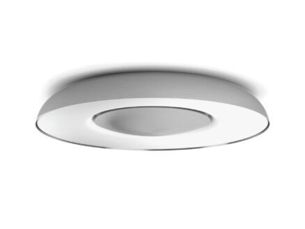 Philips Hue White Ambiance Still LED plafondlamp 32W dimbaar + afstandbediening aluminium