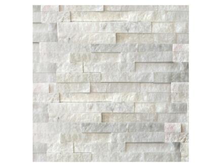 White Cleft brique de parement 0,36m² 10 pièces