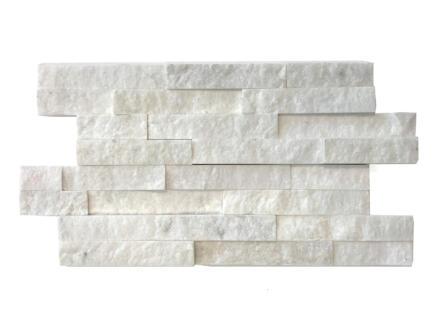 White Cleft steenstrip 0,36m² 10 stuks