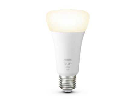 Philips White LED peerlamp E27 15,5W dimbaar