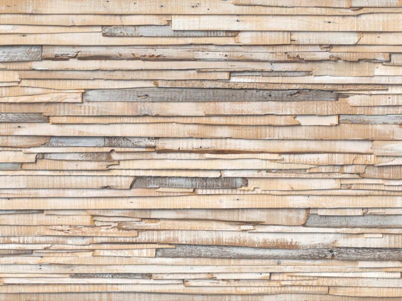 White Wash Wood 8920 papier peint photo 8 bandes