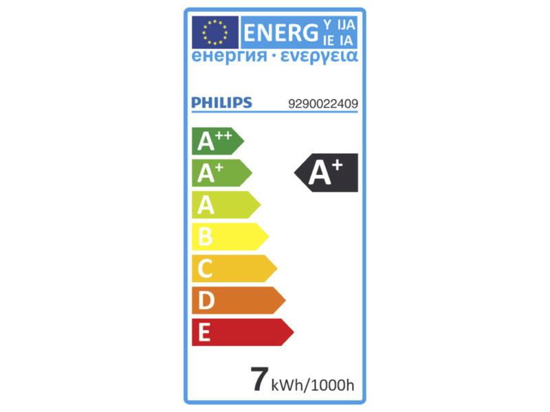 Philips Hue White ampoule LED poire filament E27 9W dimmable