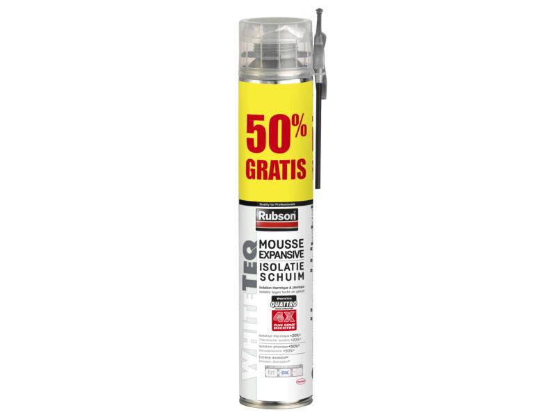 Rubson WhiteTEQ isolatieschuim 500ml +50%