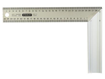 Stanley Winkelhaak met maatverdeling 30cm aluminium
