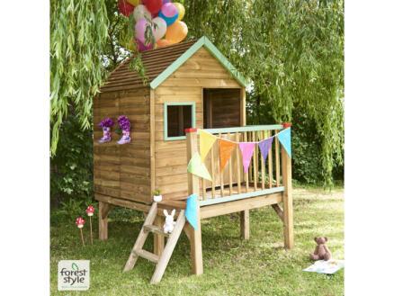 Winny cabane enfant sur pilotis
