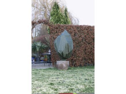 Winterafdekhoes met rits 2,5x2 m groen
