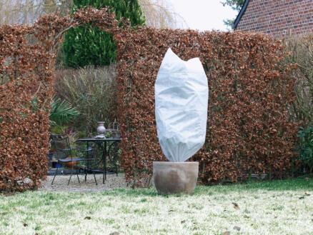 Winterhoes 1,5x0,75 m wit 2 stuks