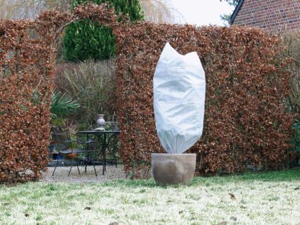 Winterhoes 1x0,5 m wit 3 stuks