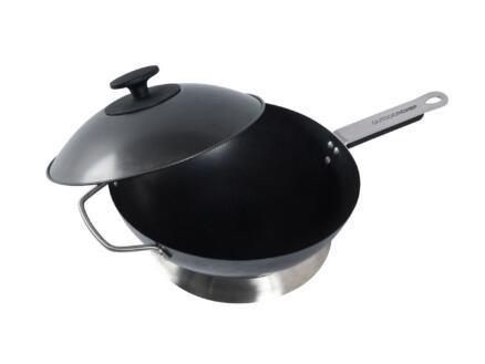 Wokpan barbecue