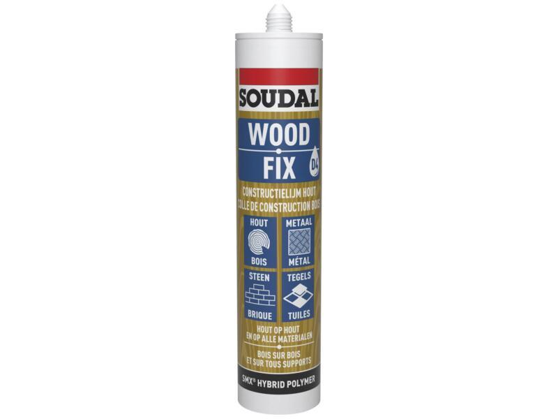Soudal Wood Fix colle de construction bois 290ml beige