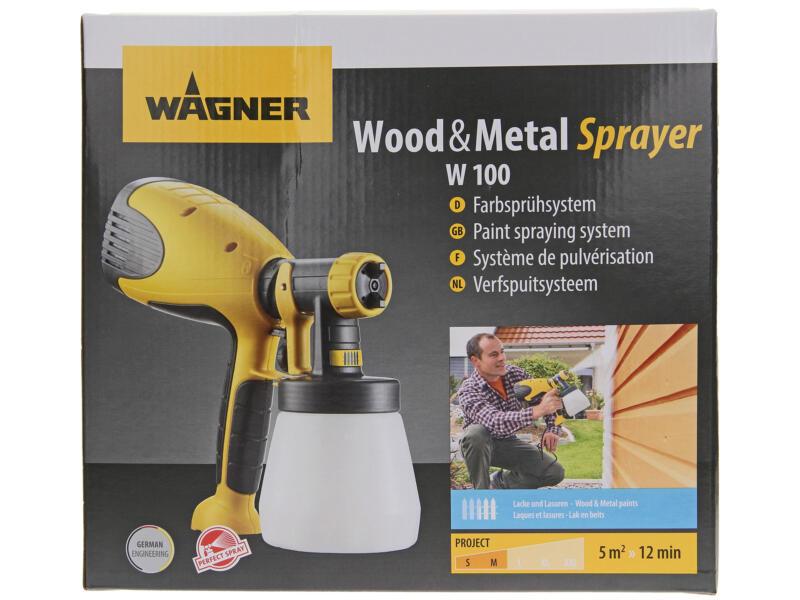 Wagner Wood&Metal W100 verfspuit 280W