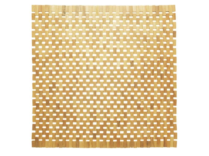 Sealskin Woodblock tapis de bain 60x60 cm teck