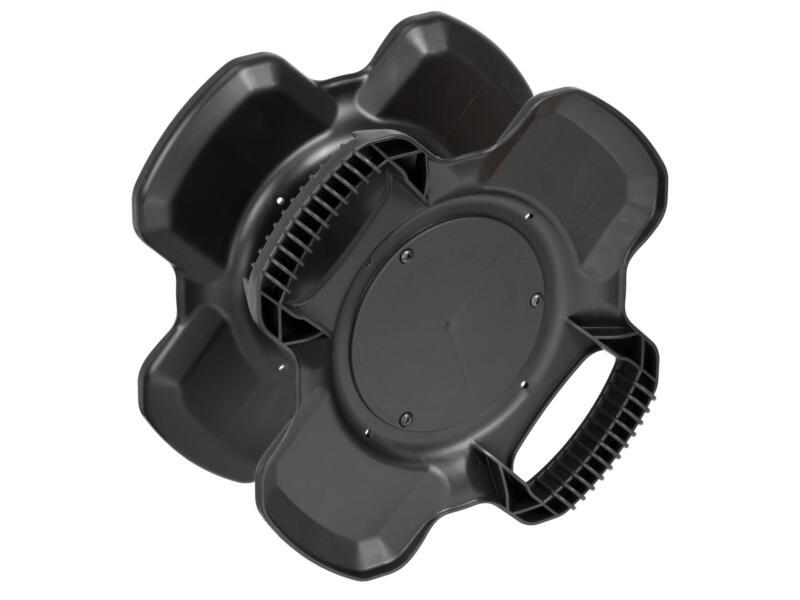 Brennenstuhl X-Gum enrouleur de câble vide noir