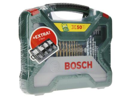 Bosch X-Line 50-delige accessoireset + 173-delige bevestigingsset