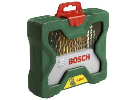 Bosch X-Line Titane set d'accessoires 40 pièces