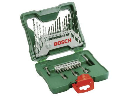 Bosch X-Line coffret d'accessoires vissage & perçage 33 pièces