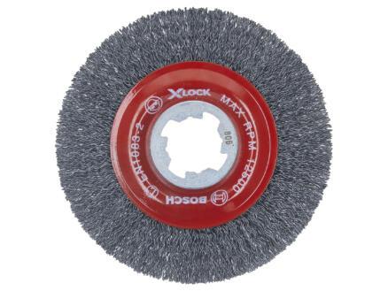 Bosch Professional X-Lock brosse circulaire à fils torsadés 115mm M14 métal