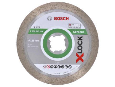 Bosch Professional X-Lock diamantschijf keramiek 125x22,23x1,6 mm