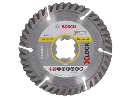 Bosch Professional X-Lock diamantschijf universeel 115x22,23x2 mm