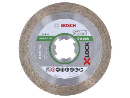 Bosch Professional X-Lock disque diamant céramique 110x22,23x1,6 mm