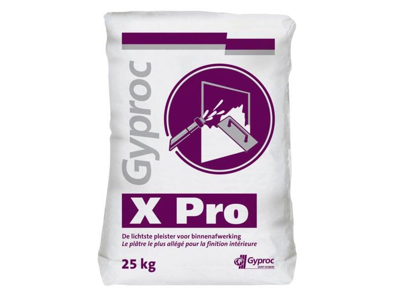 Gyproc X Pro plâtre à projeter 25kg