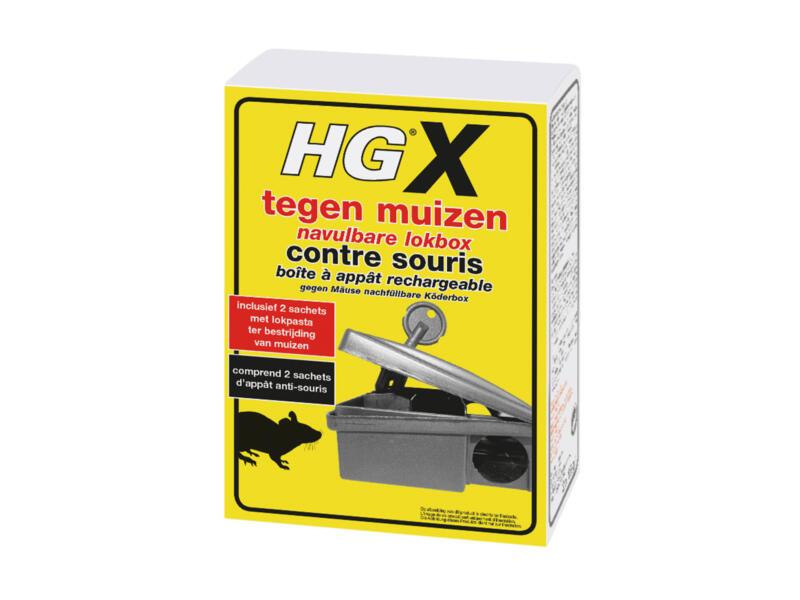 HG X boîte à appat souris rechargeable