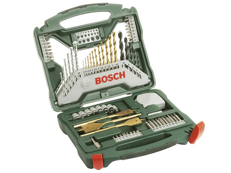 Bosch X-line accessoireset 70-delig