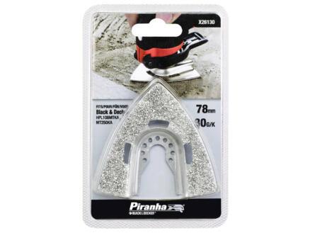 Piranha X26130-XJ schuurrasp 75x73 mm