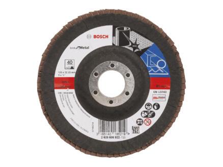 Bosch Professional X571 disque à lamelles BMT 125mm G40