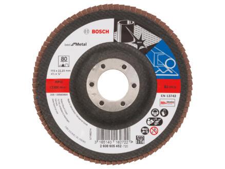 Bosch Professional X571 disque à lamelles G80 115mm