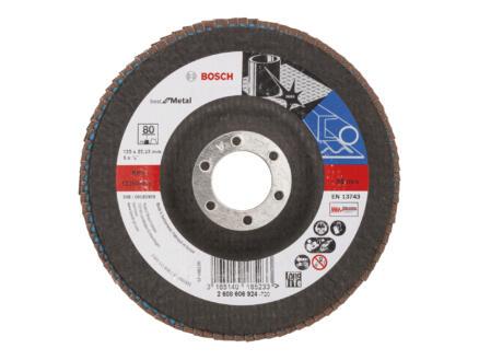 Bosch Professional X571 disque à lamelles coudé 125mm G80