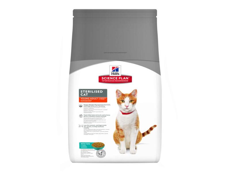 Hill's Young adult Sterilised Cat kattenvoer 1,5kg tonijn