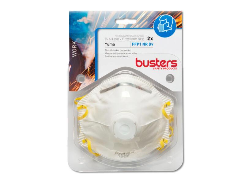 Busters Yuma masque anti-poussière FFP1 2 pièces