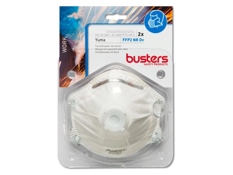 Busters Yuma stofmasker met ventiel FFP2 2 stuks