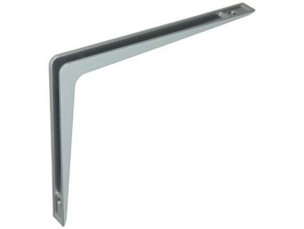 Mack Zamak plankdrager dubbel 250x200 mm lichtgrijs