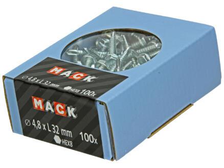 Mack Zelfborende schroeven 32x4,8 mm verzinkt 100 stuks
