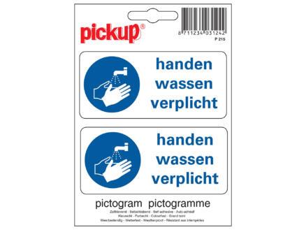 Pickup Picto pvc kl.hand wassen verpl