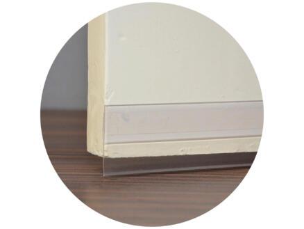 Confortex Zelfklevende deurstrip 1m 6,5cm transparant