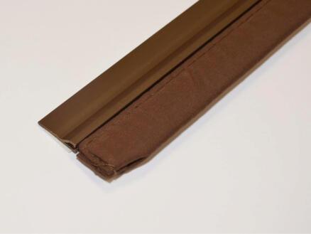 Confortex Zelfklevende deurstrip met textiel 1m 6,5cm bruin