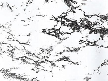 FinFIX Zelfklevende folie 45cm x 2m Marmer wit/zwart