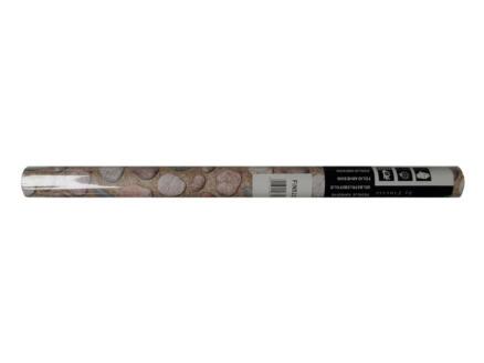 FinFIX Zelfklevende folie 45cm x 2m Ruwe kei