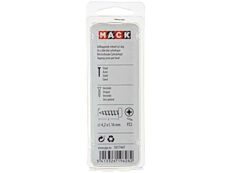 Mack Zelftappende schroeven PZ2 16x4,2 mm verzinkt 20 stuks