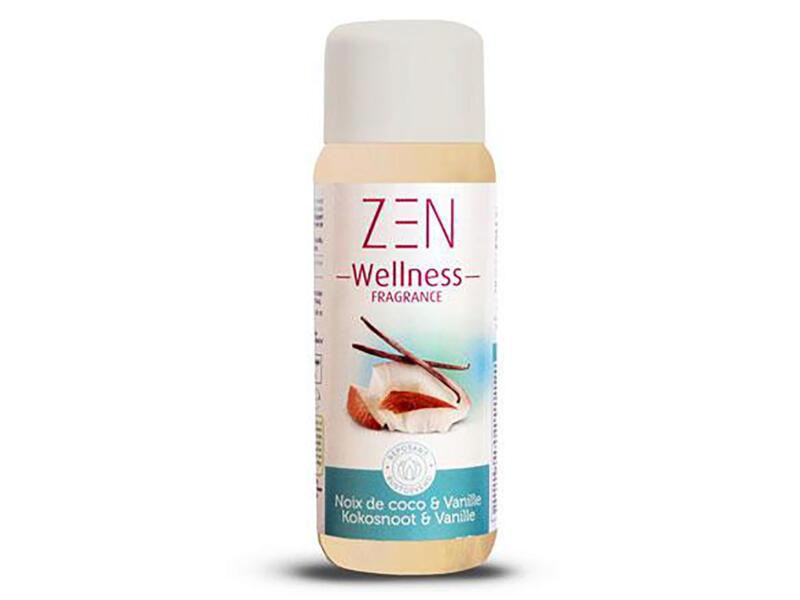 Zen Wellness parfum voor spa 250ml kokosnoot & vanille